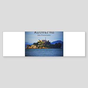 Alcatraz Island San Francisco Bumper Sticker
