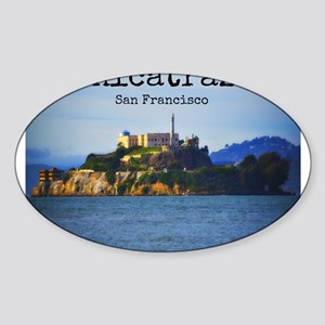 Alcatraz Island San Francisco Sticker