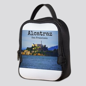 Alcatraz Island San Francisco Neoprene Lunch Bag