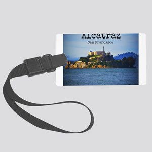 Alcatraz Island San Francisco Luggage Tag
