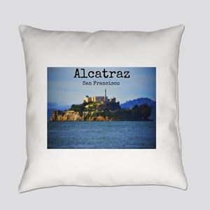 Alcatraz Island San Francisco Everyday Pillow