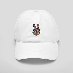 Chromatic Rainbow Peace Hand Signal Cap
