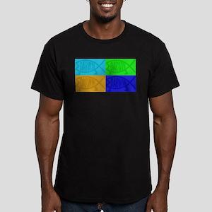 Darwin Fish Pop-Art T-Shirt