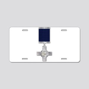 The George Cross Aluminum License Plate