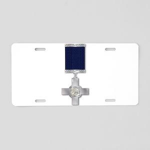 The George Cross Aluminum License Plate