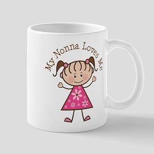 Nonna Loves Me Mugs
