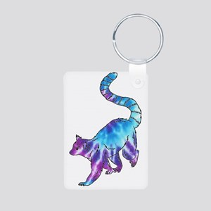 Psychedelic Lemur Keychains