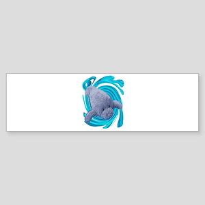 MANATEE Bumper Sticker