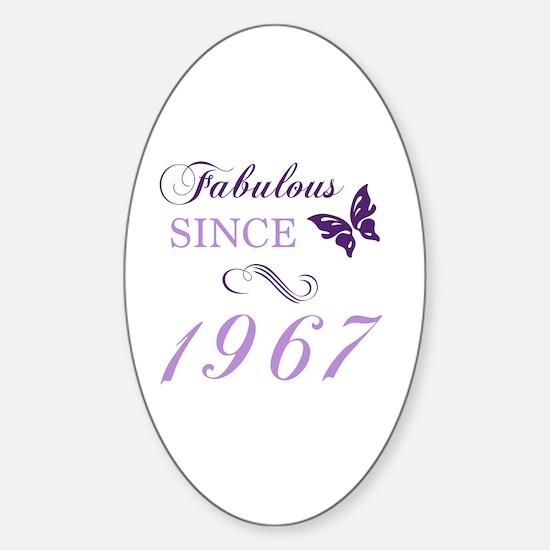 Unique 1967 Sticker (Oval)