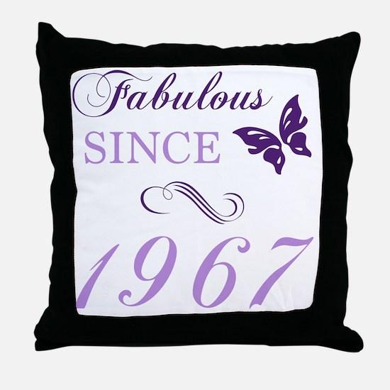 Unique 1967 pontiac gto Throw Pillow