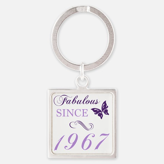 Funny 1967 Square Keychain