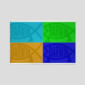 Darwin Fish Pop-Art Magnets