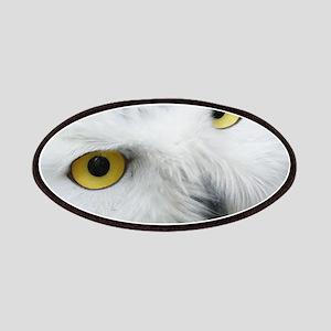 Snowy Owl Eyes Patch