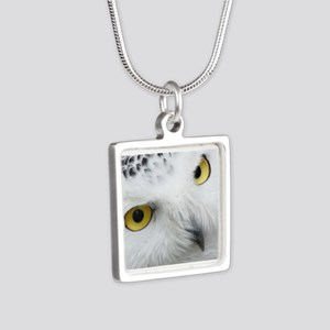 Snowy Owl Eyes Necklaces