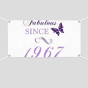 Fabulous Since 1967 Banner