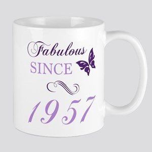 Fabulous Since 1957 Mugs