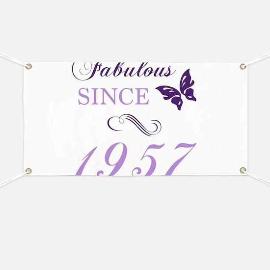 Fabulous Since 1957 Banner