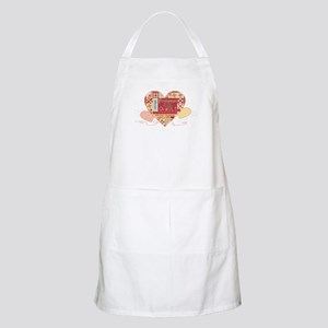 Friendships are like Quilts in Hearts Apron
