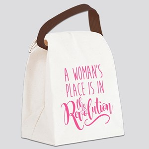 Womens Place Revolution Canvas Lunch Bag