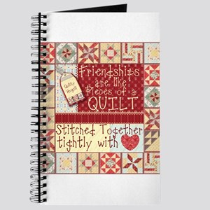 Friendships are Like Quilts Journal