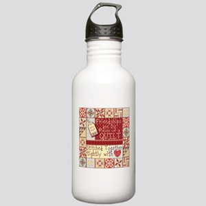 Friendships are Like Quilts Water Bottle