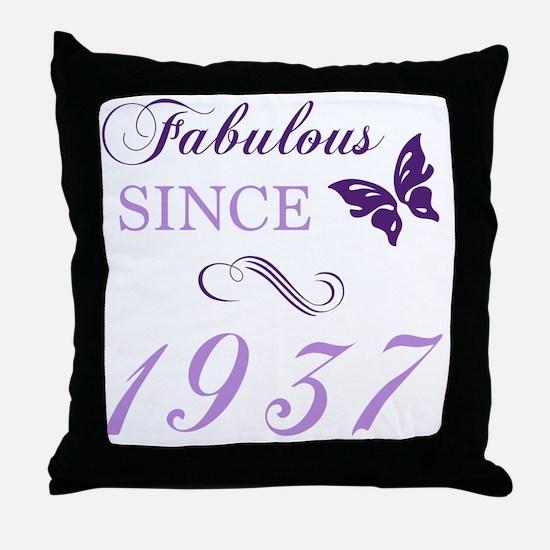 Unique 1937 Throw Pillow