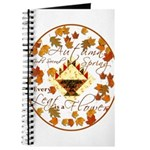 Autumn Second Spring Leaves Journal
