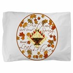 Autumn Second Spring Leaves Pillow Sham