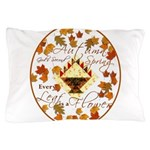 Autumn Second Spring Leaves Pillow Case