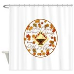 Autumn Second Spring Leaves Shower Curtain