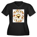 Autumn Second Spring Leaves Plus Size T-Shirt