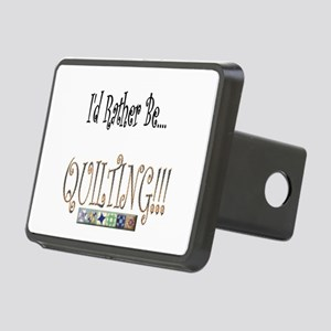 I'd Rather be Quilting Rectangular Hitch Cover