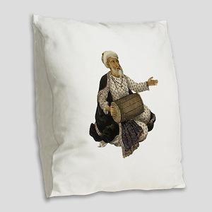 RHYTHM Burlap Throw Pillow