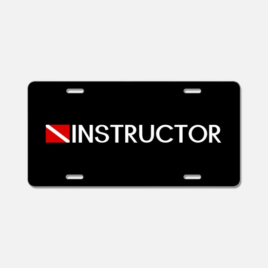 Diving: Instructor & Diving Flag Aluminum License