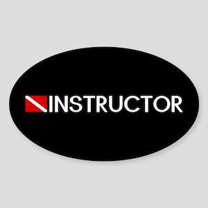 Diving: Instructor & Diving Flag Sticker