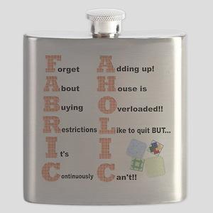 FABRICAHOLIC1 Flask