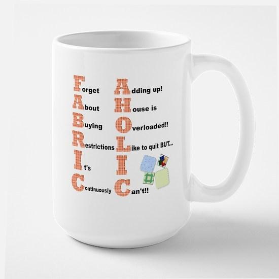 FABRICAHOLIC1.png Mugs
