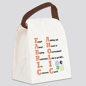 FABRICAHOLIC1 Canvas Lunch Bag