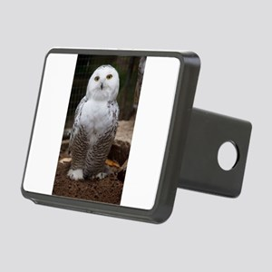 Snowy Owl Hitch Cover