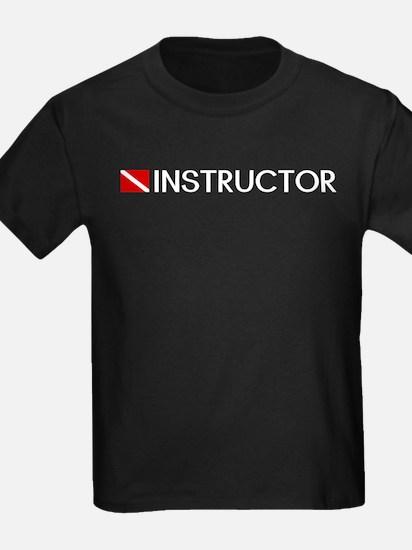 Diving: Instructor & Diving Flag T-Shirt