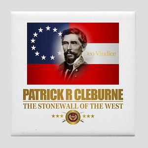 Cleburne (Southern Patriot) Tile Coaster