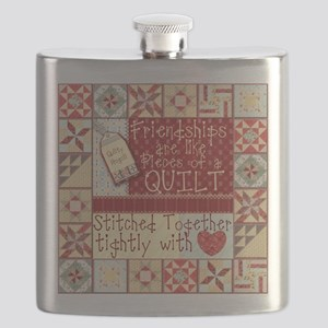 Quilting Friendships Flask