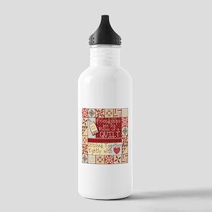 Quilting Friendships Water Bottle