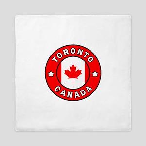 Toronto Canada Queen Duvet