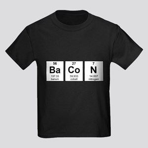 Bacon Periodic Table Element Symbols T-Shirt
