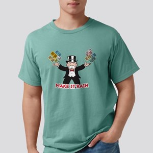 Monopoly - Make It Rain Mens Comfort Colors Shirt