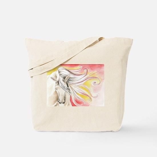 Spanish Sun Horse Tote Bag