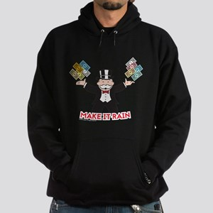 Monopoly - Make It Rain Hoodie (dark)