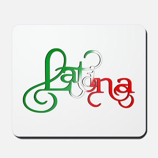 Proud to be a Latina! Mousepad