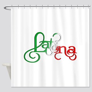 Proud to be a Latina! Shower Curtain